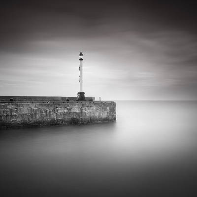 Long Exposure Photograph - Bridlington Harbour by Ian Barber