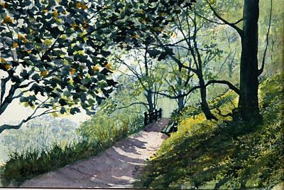 Painting - Brief Respite by Glenn Marshall