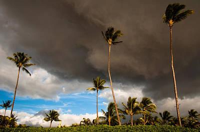 Stinson Beach California Photograph - Brief Sprinkle - Lahaina Maui by Michael Keel