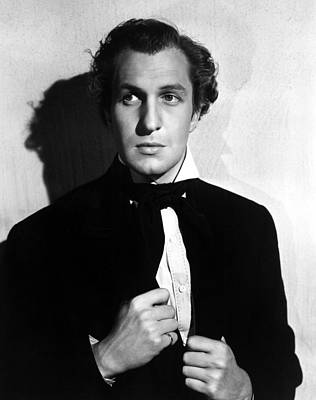 1940 Movies Photograph - Brigham Young, Vincent Price, 1940 by Everett