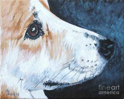 Painting - Bright Eyes by Ann Becker