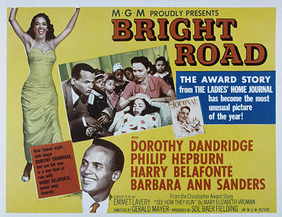 Fid Photograph - Bright Road, Dorothy Dandridge, Harry by Everett