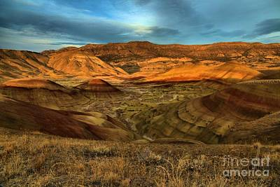 Photograph - Brightly Painted Hills by Adam Jewell