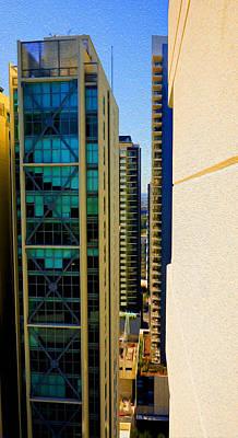 Digital Art - Brisbane 25th Floor 01 by Joe Michelli