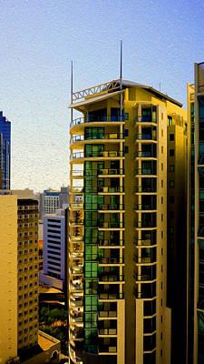 Digital Art - Brisbane 25th Floor 02 by Joe Michelli