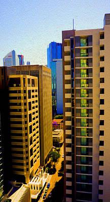 Brisbane 25th Floor 03 Print by Joe Michelli