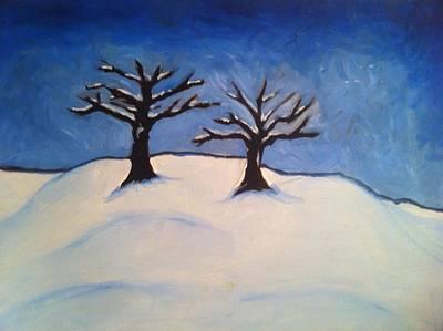 Brisk Winter Art Print