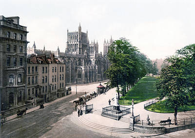 Bristol - England - College Green Art Print by International  Images