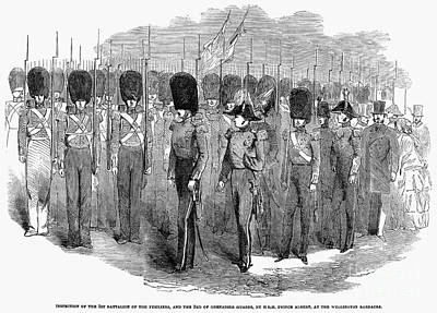 Britain: Fusiliers, 1854 Print by Granger
