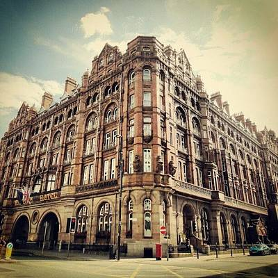 Old Wall Art - Photograph - #britanniahotel  #hotel #buildings by Abdelrahman Alawwad