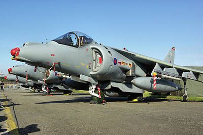 Photograph - British Aerospace Harrier Gr9 by Tim Beach