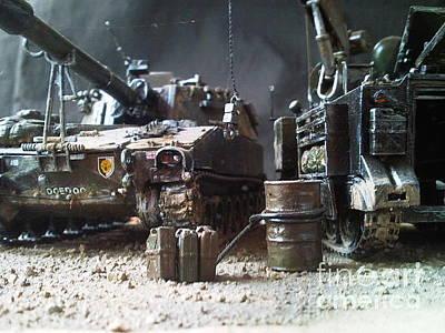 Sculpture - British Army by Rich Holden