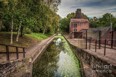 Kiln Photograph - British Canal  by Adrian Evans