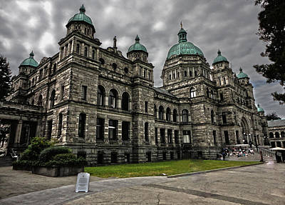 British Columbia Parliament Buildings Art Print by Gregory Dyer