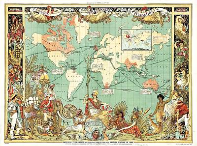 Drawing - British Empire by Roberto Prusso