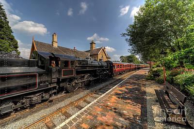 Rail Digital Art - British Locomotion by Adrian Evans