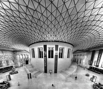 Photograph - British Museum by Roddy Atkinson