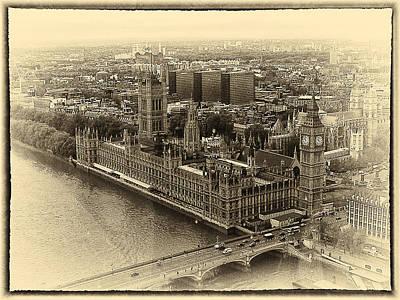 British Parliment Art Print by Scott Massey