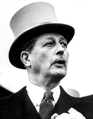 British Prime Minister Harold Art Print by Everett