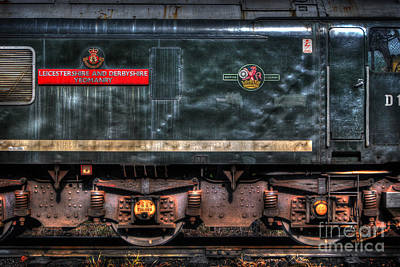 Photograph - British Railways D123 by Yhun Suarez