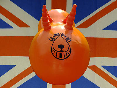 British Space Hopper Art Print by Richard Reeve