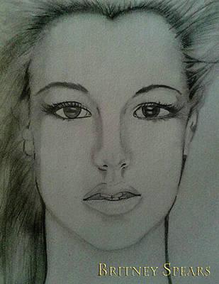 Britney Spears Photograph - Britney Spears by Beatriz Lovelace
