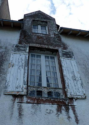 Photograph - Brittany Window by Carla Parris