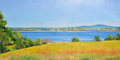 Painting - Broad Cove From Bremen by Sarah Gayle Carter