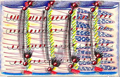 Minimalist Music Manuscript Art Print