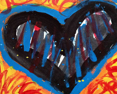 Painting - Broken Heart And Power Of Love Collide by Bethany Stanko