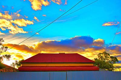 Photograph - Broken Hill Enhancement Number Four by Ross Carroll
