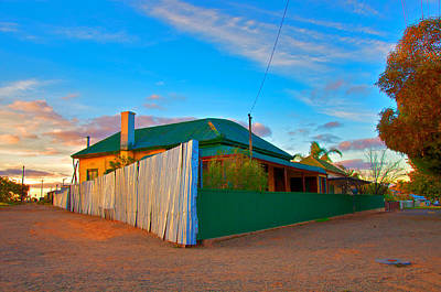 Photograph - Broken Hill Enhancement Number Twelve by Ross Carroll