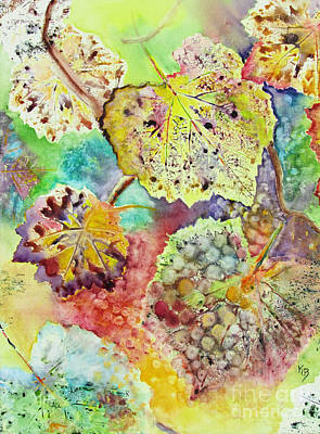 Painting - Broken Leaf by Karen Fleschler