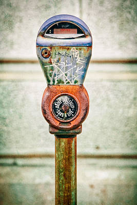 Photograph - Broken Meter by Stacey Granger