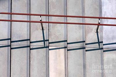 Stair-rail Photograph - Broken Shadow by Dan Holm