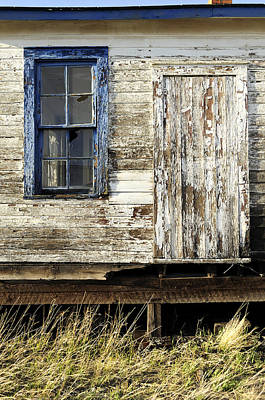 Daysray Photograph - Broken Window by Fran Riley