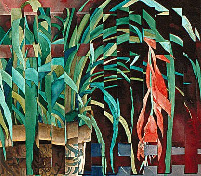 Painting - Bromeliad by Eunice Olson