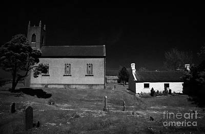 Bronte Homeland Interpretive Centre Drumballyroney Church County Down Ireland Art Print by Joe Fox