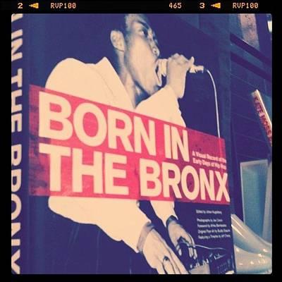 Bronx Born Art Print