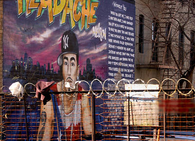 Newyork08 Photograph - Bronx Graffiti. Headache - 1 by RicardMN Photography