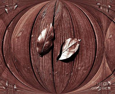 Bronze Leaf Photograph - Bronze Leaves by Marsha Heiken