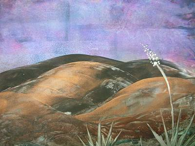 Painting - Bronze Mountains by Melinda Etzold