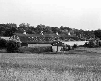 Brook Hill Dairy Farm Original by Jan W Faul