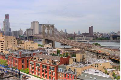 Photograph - Brooklyn Bridge by Craig Leaper