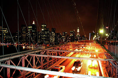Photograph - Brooklyn Bridge by La Dolce Vita