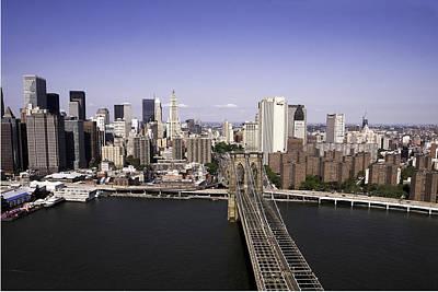 Art Print featuring the photograph Brooklyn Bridge by Paul Plaine