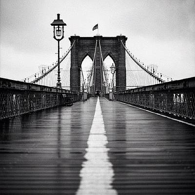 Manhattan Wall Art - Photograph - Brooklyn Bridge by Randy Lemoine