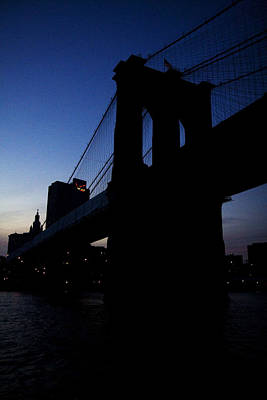 Photograph - Brooklyn Bridge by Van Corey