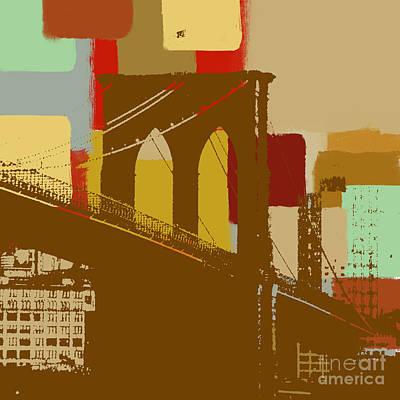 Brooklyn Bridge  Art Print by Art Yashna