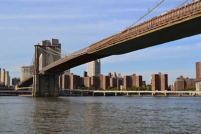 Brooklyn Bridge1 Art Print by Zawhaus Photography